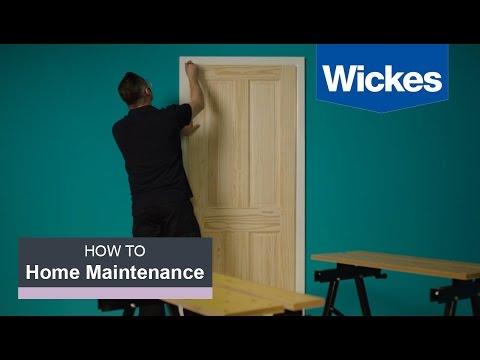 How To Hang An Interior Door With Wickes
