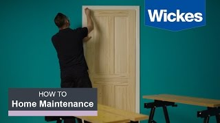 How to Hang an Interior Door with Wickes