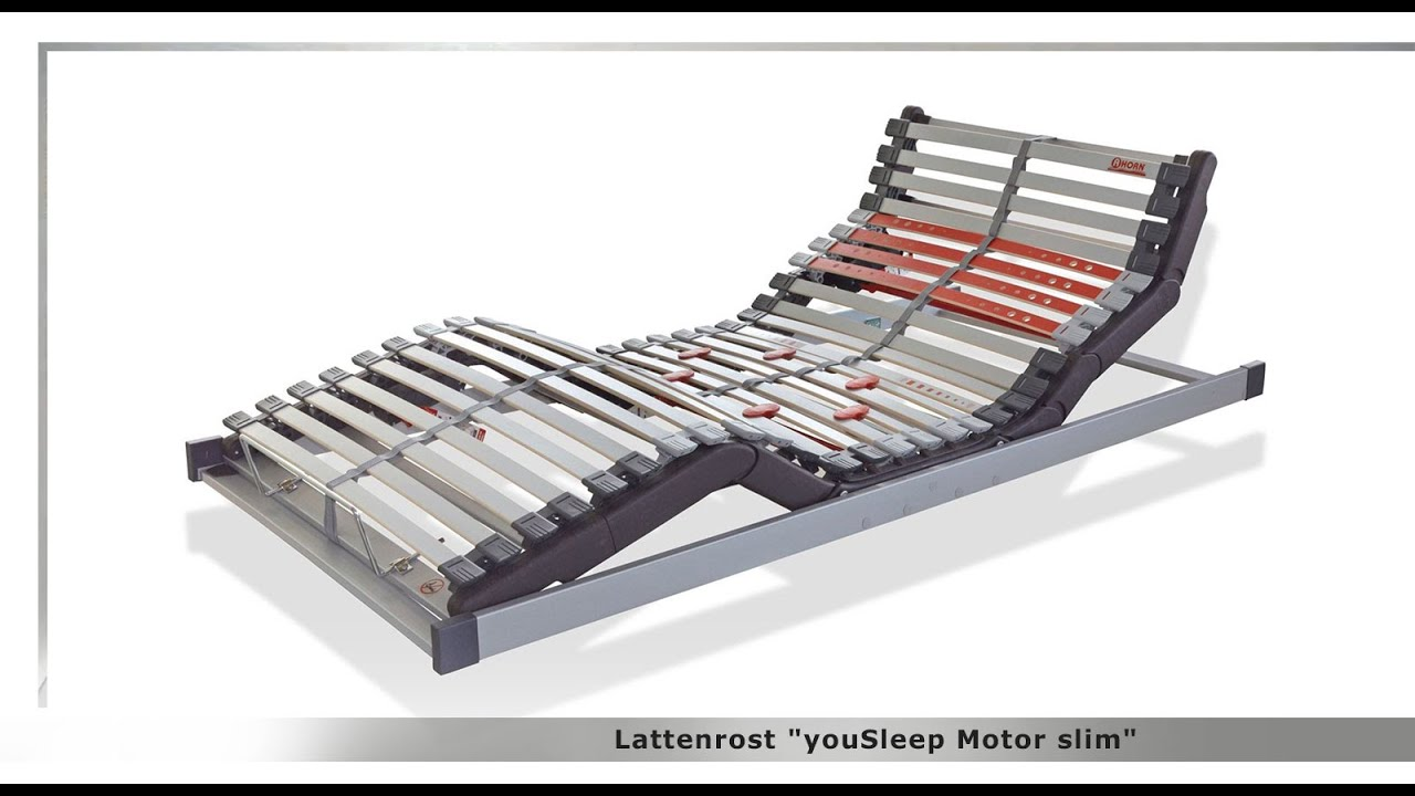 Lattenrost Yousleep Motor Slim Youtube