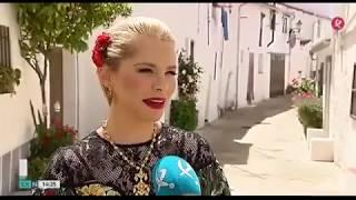 "Soraya- Rodaje "" Yo brindo"" nuevo videoclip Extremadura noticias, Canal Extremadura (14/05/18)"