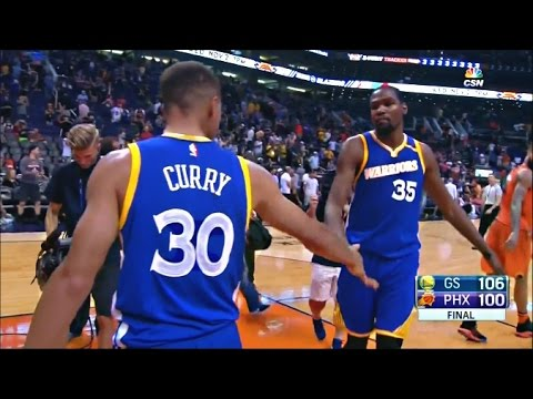 Warriors 2016-17: Game 3 VS Suns