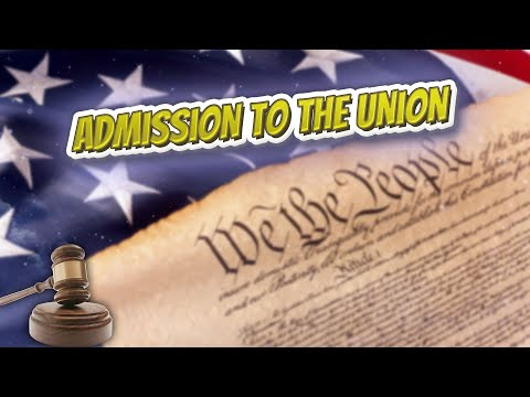 Admission to the Union (USA Constitution)⚖️📜🍔⚾🙈👺🤡😬✅