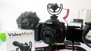 Rode Video Micro Review Compact Microphone for Camera's