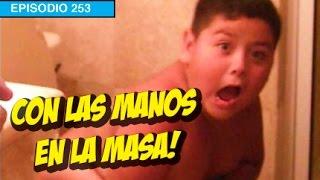 Repeat youtube video Atrapan a niño con las manos en la Masa!!