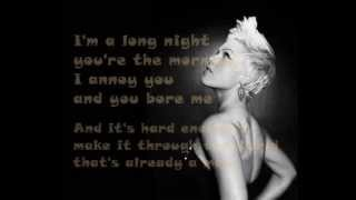 [4.06 MB] P!nk - Is This Thing On ? ( Lyrics On Screen ) 2012