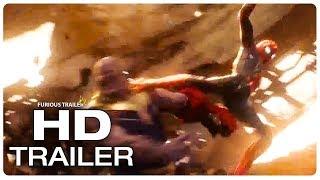 Новые кадры AVENGERS INFINITY WAR Spiderman vs Thanos Trailer 2018 Superhero Movie Trailer HD