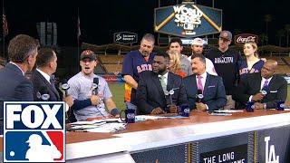 Alex Bregman joins the FOX MLB Crew after Game 7 | 2017 MLB Playoffs | FOX MLB