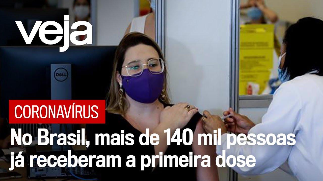 Coronavírus: Doses da Índia da vacina de Oxford chegam ao Brasil nesta sexta à tarde