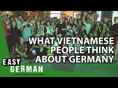 What do Vietnamese people think about Germany? | Easy German 131