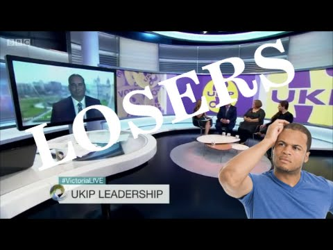 UKIP leadership election. what a bunch of losers!