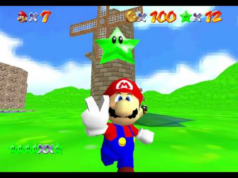 "SM64: The Green Stars ""130 Stars"" TAS in 1:33:36.25 by 4232nis, homerfunky, and sm64expert"