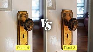 Pixel 4 versus Pixel 3 real world camera comparison