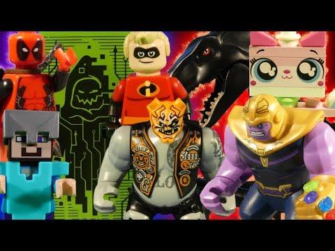LEGO ULTIMATE MEGA MIX - NINJAGO - AVENGERS - JURASSIC WORLD - STAR WARS - MINECRAFT -  UniKitty