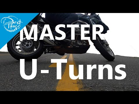 How to do a U-turn on a motorcycle like a pro