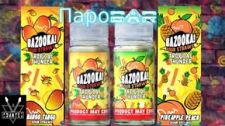 видео Купить Bazooka Sour Straws - Mango Tango 100 мл. в Киеве