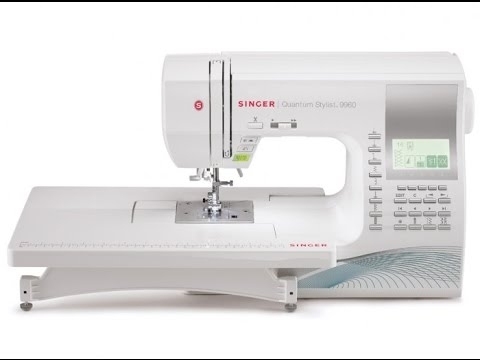 SINGER® QUANTUM STYLIST™ 9960 - Complete Video