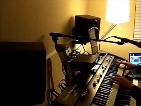 Entangled - Genesis (Tony Banks' keyboard solo, Mellotron & Arp Prosoloist) (cover)