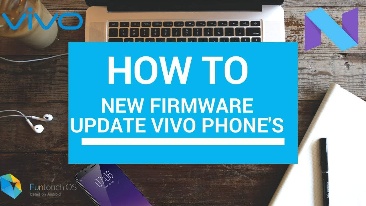 New firmware update vivo phone's
