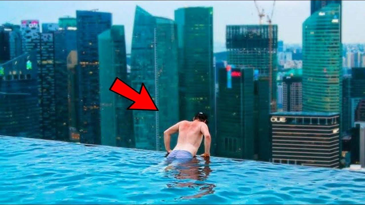 ये है दुनिया के 10 सबसे खतरनाक और अजीबोगरीब स्विमिंग पूल | 10 Dangerous & Unusual Swimming Pools