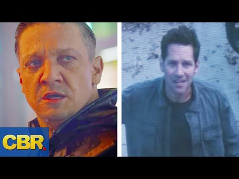 What You Didn't Realize About Hawkeye And Ant-Man In The Marvel Avengers 4 Endgame Trailer