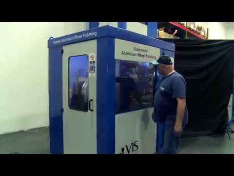 The VIS-Polish System: Fully Automated Robotic Aluminium Wheel Polishing System