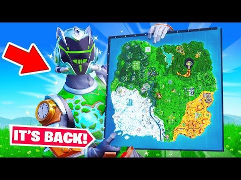 The OG MAP is BACK?! (Fortnite)