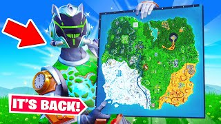The OG MAP is BACK?! (Fortnite)