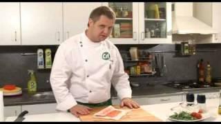 Роллы из лосося с сыром Филадельфия