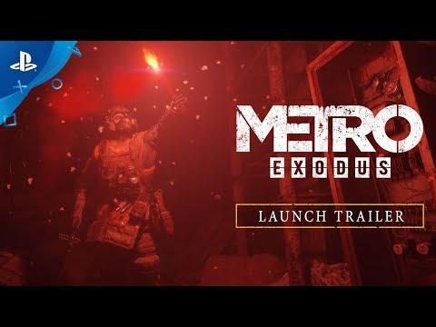 Metro Exodus - Launch Trailer   PS4