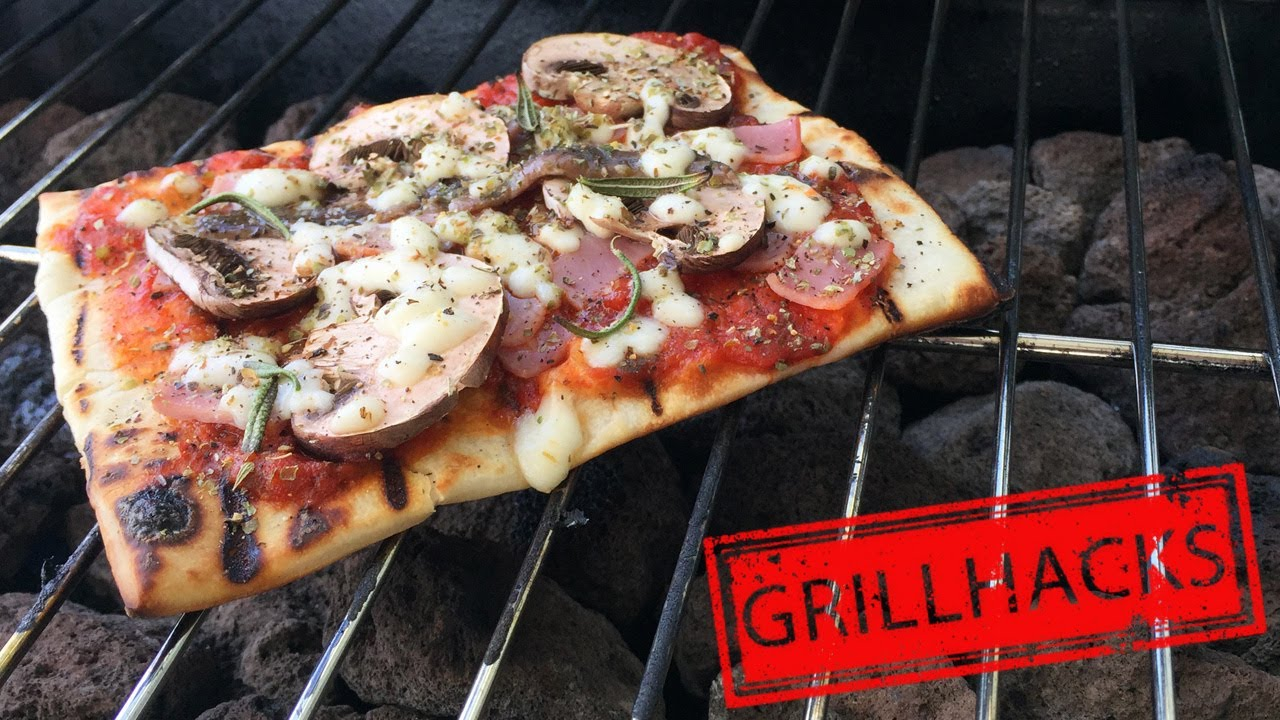 Weber Elektrogrill Pizza Backen : Pizza backen auf dem grill bbq pizza ohne pizzastein i youtube