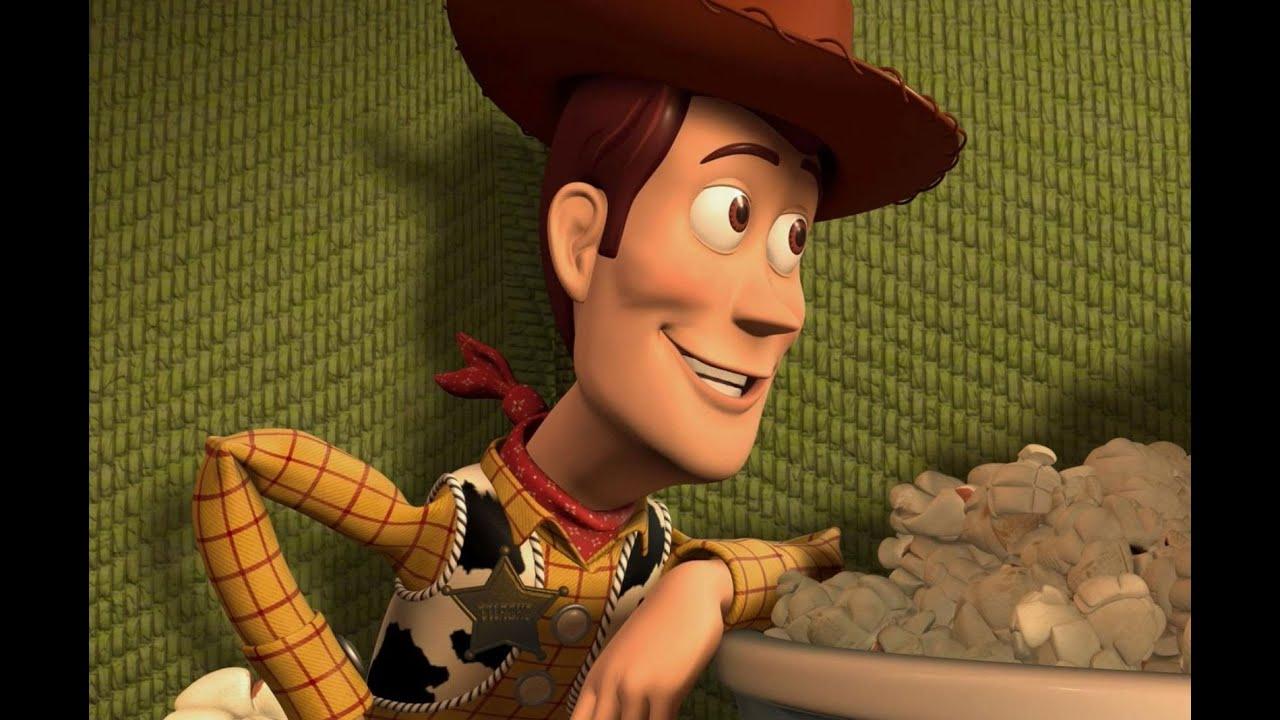 Вуди История игрушек Woody - ковбой из мультфильма Toy Story .