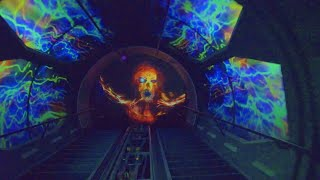 2018 Space Mountain Ghost Galaxy *NEW* Disneyland Park Complete Ridehthrough