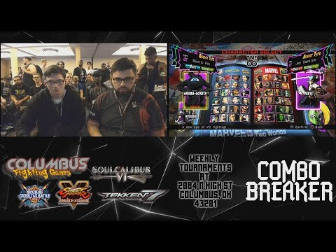 UMvC3|Combo Breaker 2019 - Losers Final - MSF|Angelic Vs HB|Evasion