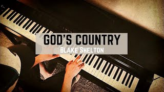 GOD'S COUNTRY by Blake Shelton (Piano Cover) - Ashcroft Music Cover