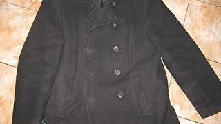 Стирка шерстяного осеннего пальто- ручная (частичная)