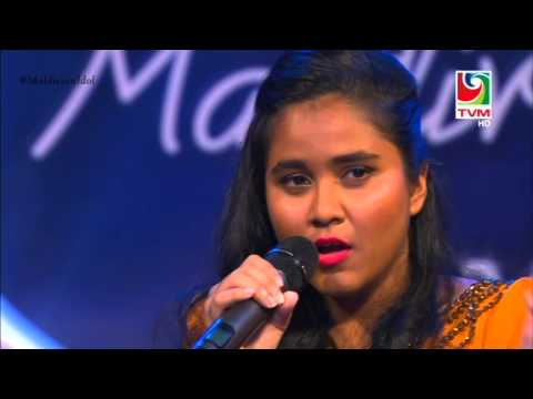 Maldivian Idol Piano Round | Raonveehey - Laisha Junaid