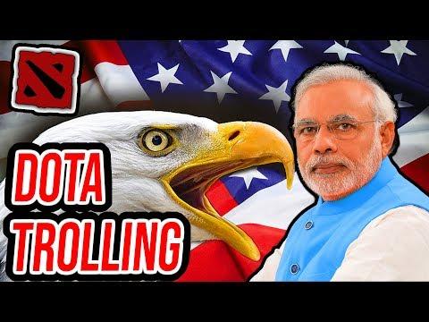 EPIC INDIAN RAGE (Dota 2 Trolling)