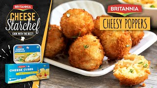 How to Make Cheesey Poppers | Cheese Poppers | Appetizers | Cheese Poppers Recipe | Saif Ali Khan