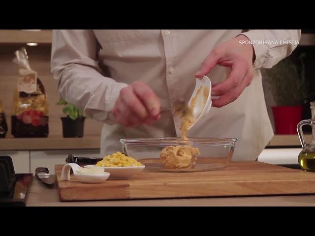 Kuhajmo zajedno uz Sana delikatese: Pile?a prsa s koricom od Hummusa
