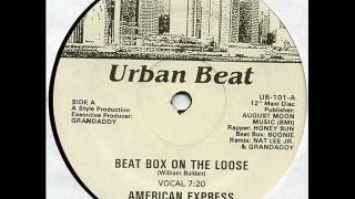 American Express - Beatbox On The Loose