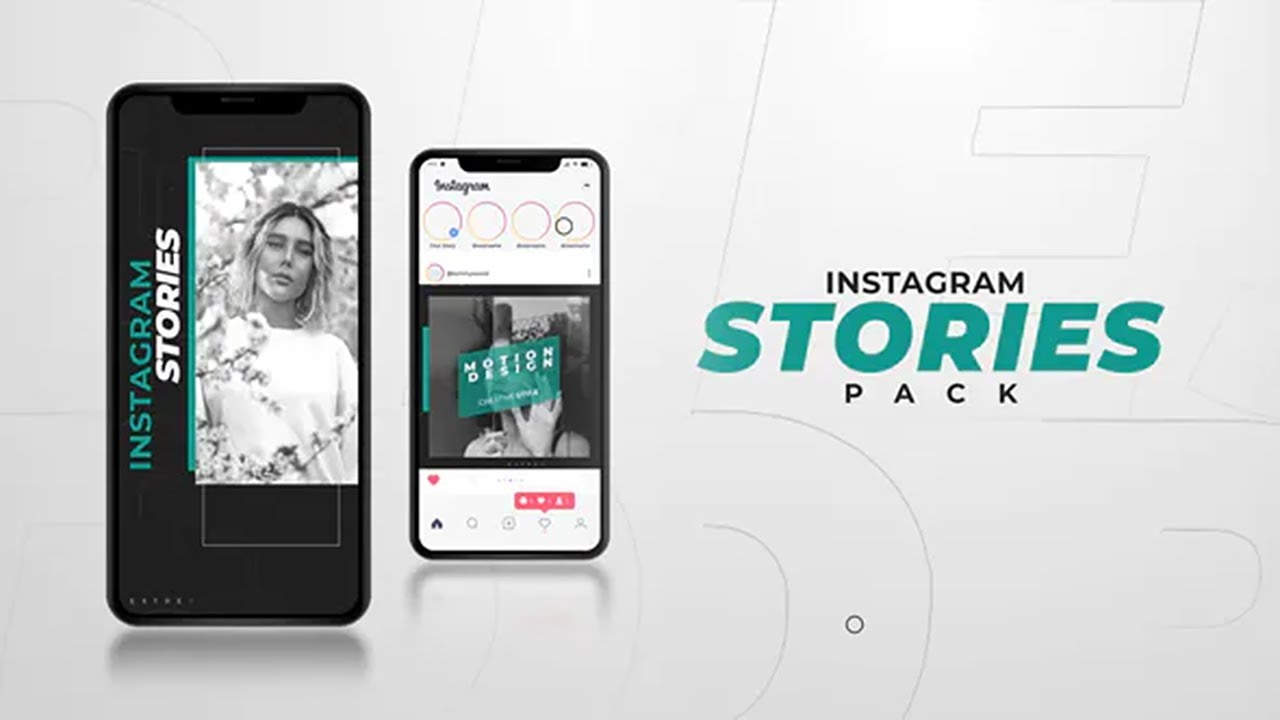 Instagram Stories ★ After Effects Template ★ AE Templates