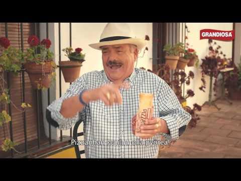 El Risitas ihmettelee Grandiosa Pizzataskua