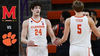 Maryland vs. clemson: the tigers used multiple runs to get a resounding 67-51 victory over maryland. four clemson players scored in double-figures led by aam...