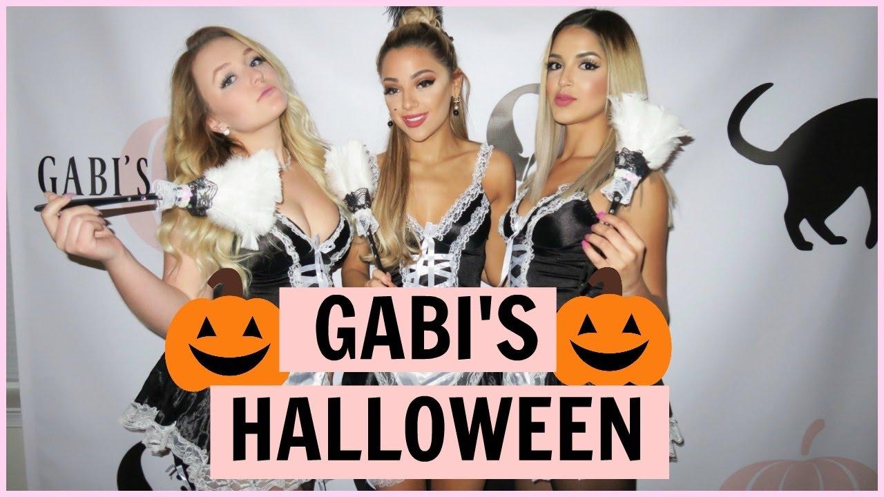 gabi's halloween party- gaboween 2016 - youtube