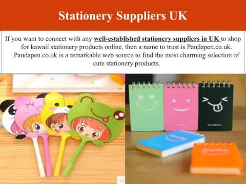 Shop for Cute Stationery Products at Panda Pen UK
