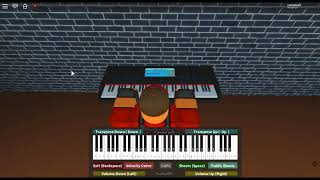 Puzzle 1 - Professor Layton and the Curious Village by: Tomohito Nishiura on a ROBLOX piano.