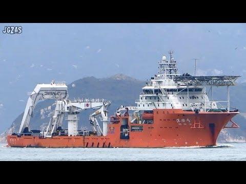[船] SHEN QIAN HAO 深潜号 Diving Support Vessel 潜水支援母船 Hong Kong 香港 2014-MAR