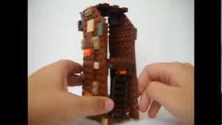Lego Lord of the Rings Custom Orc Siege Tower Showcase
