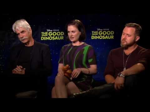 The Good Dinosaur Butch, Ramsey & Nash Interview - Sam Elliott, Anna Paquin & AJ Buckley