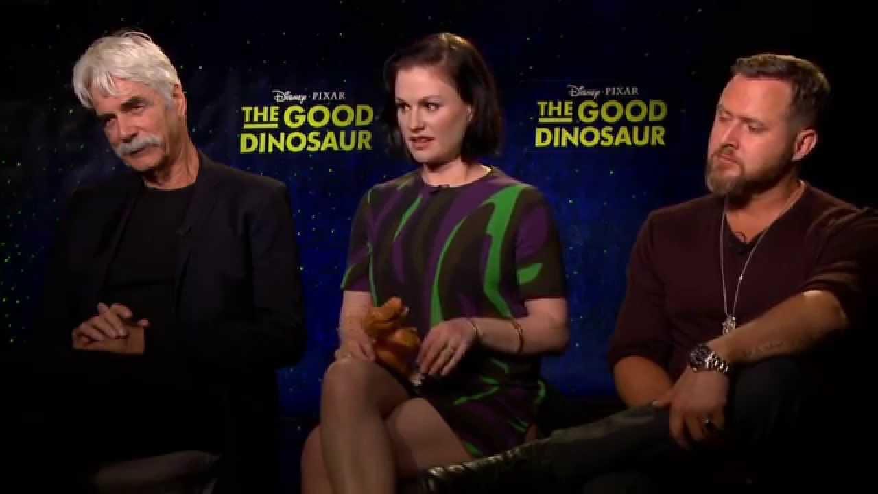 the good dinosaur butch ramsey nash interview sam elliott anna